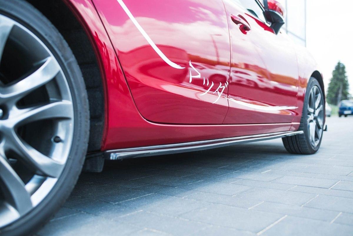 Dokładki Progów Mazda 6 GJ (Mk3) Facelift - GRUBYGARAGE - Sklep Tuningowy